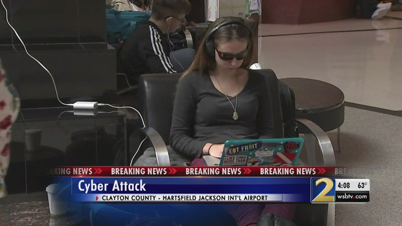 Hartsfield-Jackson wi-fi still down in wake of cyber attack on city