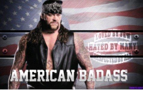 He is not a deadman. He is American Bad Ass. Happy Birthday Undertaker