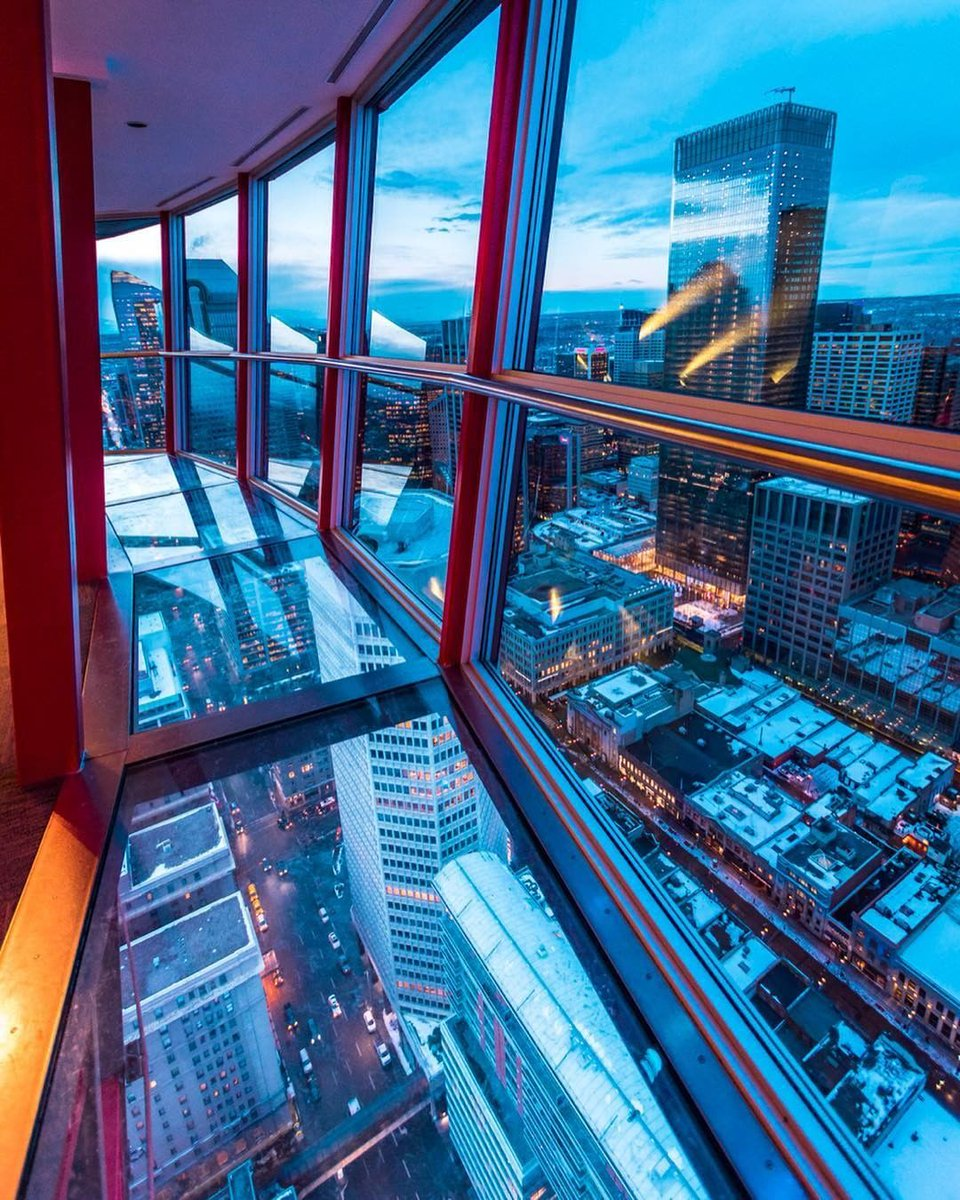 For 51 Years The Calgary Tower Has Been Defining This Citys Skyline Would You Stand On Its Glass Floor 600 Feet Above Ground