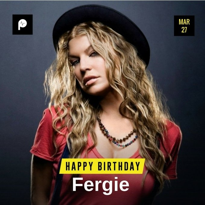 Happy Birthday to former member of Fergie.  Live Long and Prosper.....