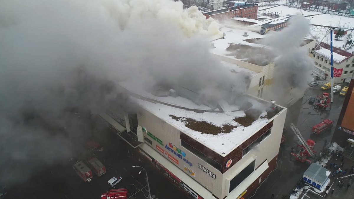 """Russia accuses Trump of making the Kemerovo mall fire """"more painful"""""""