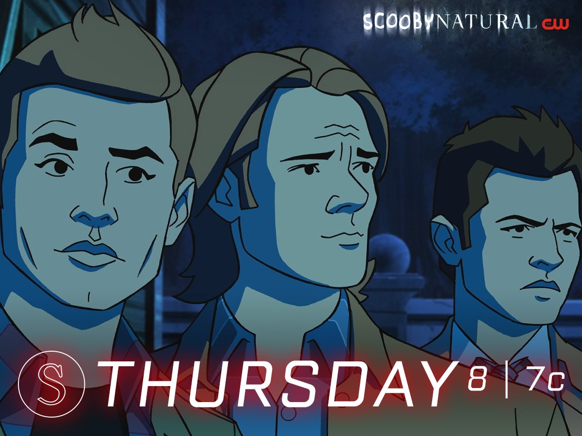 The boys get animated in #Scoobynatural Thursday at 8/7c on The CW! https://t.co/xtYpDuvEBj