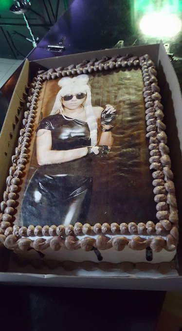 Happy Birthday Baby! It\s my birthday cake -like Lady Gaga