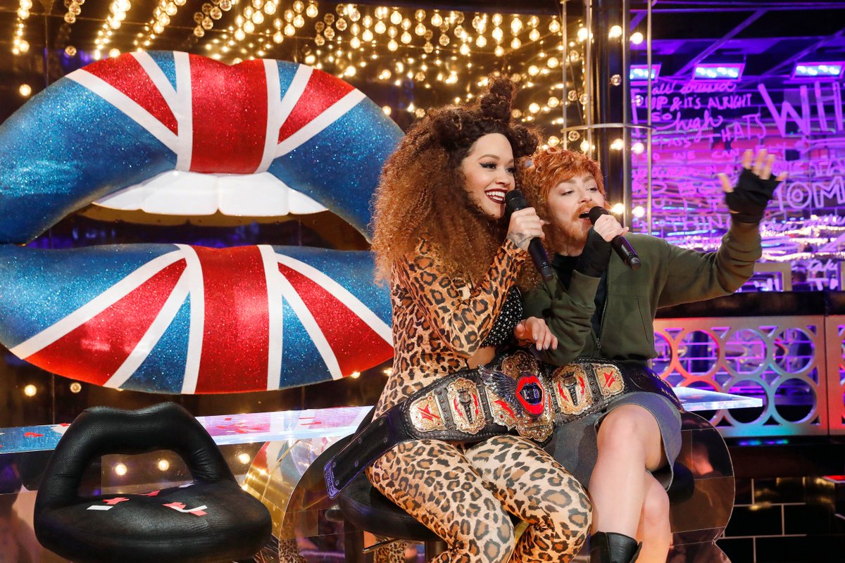 Scary Spice and Ed Sheeran giving you #girlpower on #LipSyncBattle this Thursday!! ???????????? 9:30/8:30c! ???????? https://t.co/ng3WXnV37U