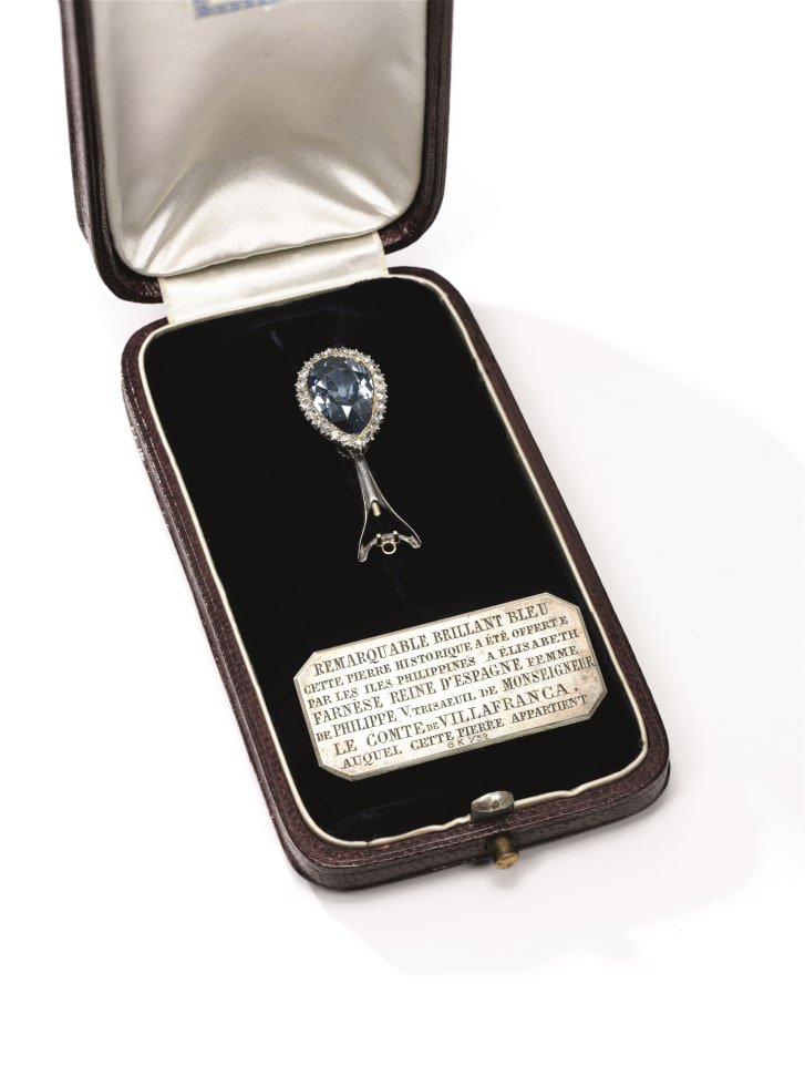 This blue diamond is going on sale for the first time in its history