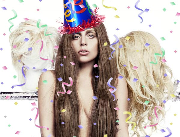 HAPPY 32ND BIRTHDAY TO OUR QUEEN, LADY GAGA!!