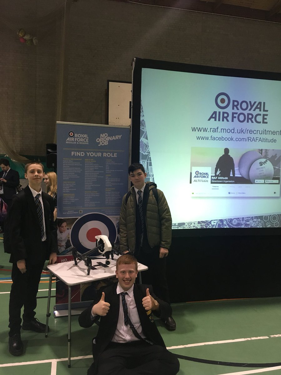 test Twitter Media - RAF roadshow for all year 9 learners. Promoting STEM careers, especially engineering! Fantastic event with a 110db jet engine! #STEM #raf #girlscandoittoo https://t.co/mXbJzrvcuh