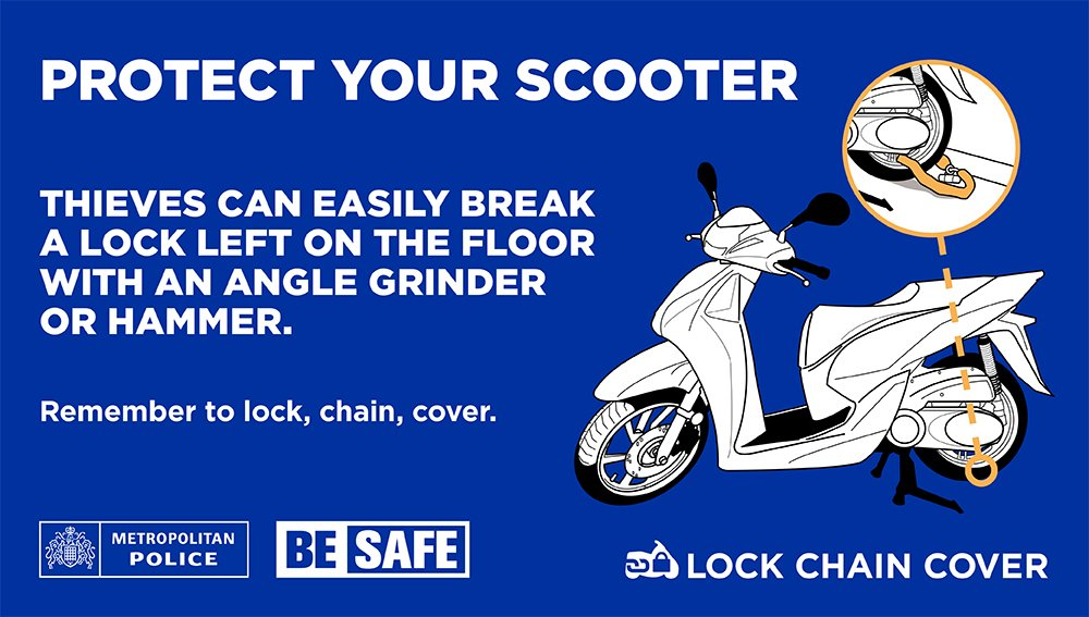 Learn how you can #SecureYourScooter here:  https://t.co/9vRzKSN1bJ https://t.co/0taZwn0lO1