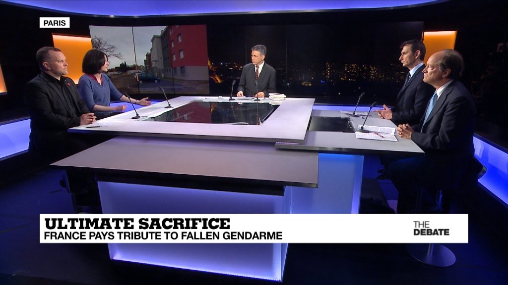 THE DEBATE - Ultimate sacrifice: France pays tribute to fallen gendarme