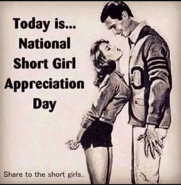 "#nationalshortgirl 5'2"" here my boys. Im short but DINAMITE 😈😈 EXxA35RACA"