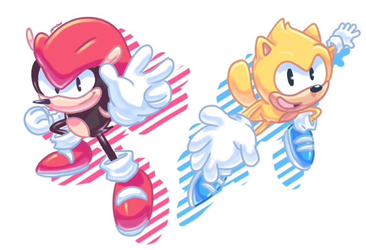 So excited to see these boyz return in Sonic Mania Plus! #SonicMania #SonicTheHedgehog https://t.co/aQH7Eqm7dz