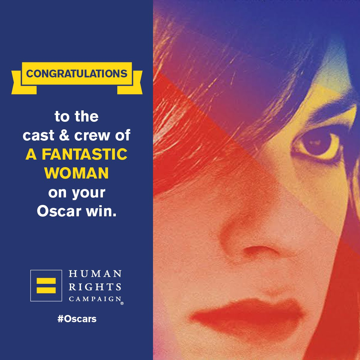 A Fantastic Woman trans love story wins best foreign
