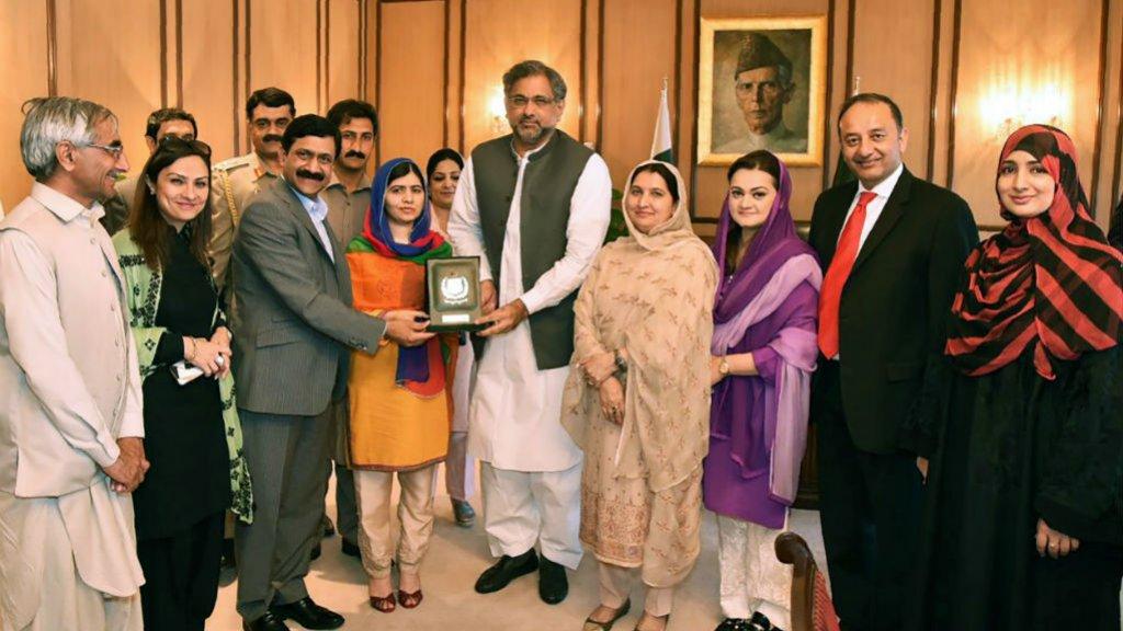 Nobel Prize winner Malala Yousafzai returns to Pakistan home town