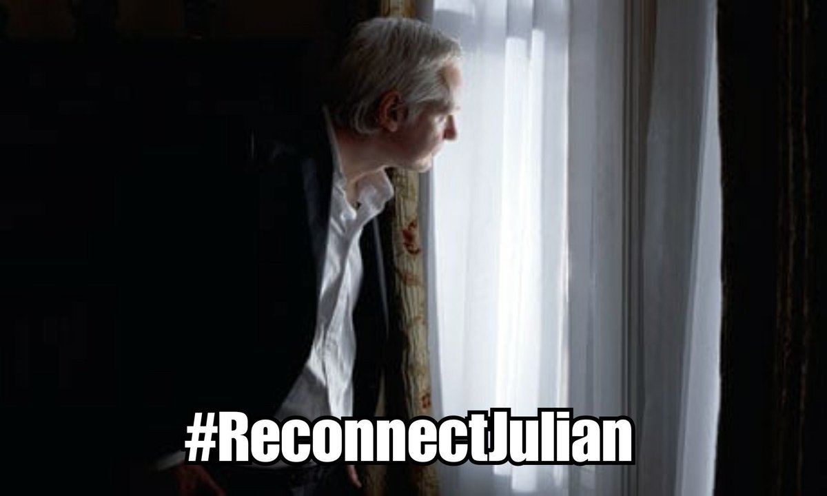 RT @WikiLeaksShop: #ReconnectJulian - donate to his legal defence. https://t.co/lvhoyhlqUa https://t.co/8ylYF5EtNQ