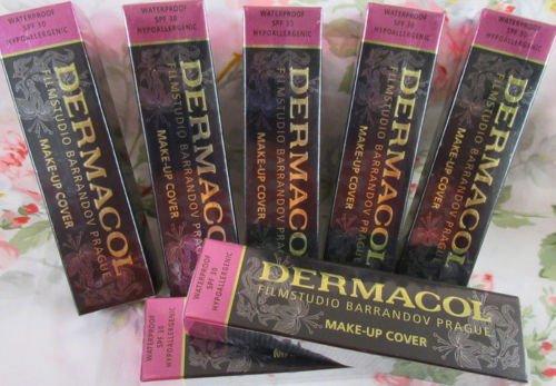 DERMACOL Makeup WATERPROOF HYPOALLERGENIC Foundation High Cover Concealer |...