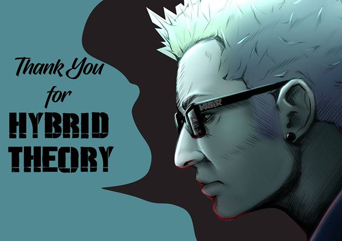 Thank You for HYBRID THEORY Happy Birthday Chester  Bennington