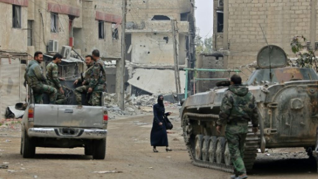 Syria's army vows to finish off last Ghouta rebels