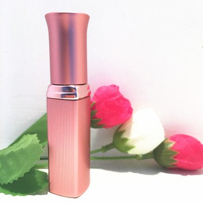 free shipping 5ml pink perfume spray bottle,emollient water glass striped pac...