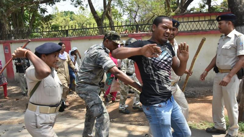 Dalits in India hold protests against dilution of SC/ST Act