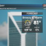 BLOG: Warm weather continues, rain could disrupt weekend plans - | WBTV Charlotte