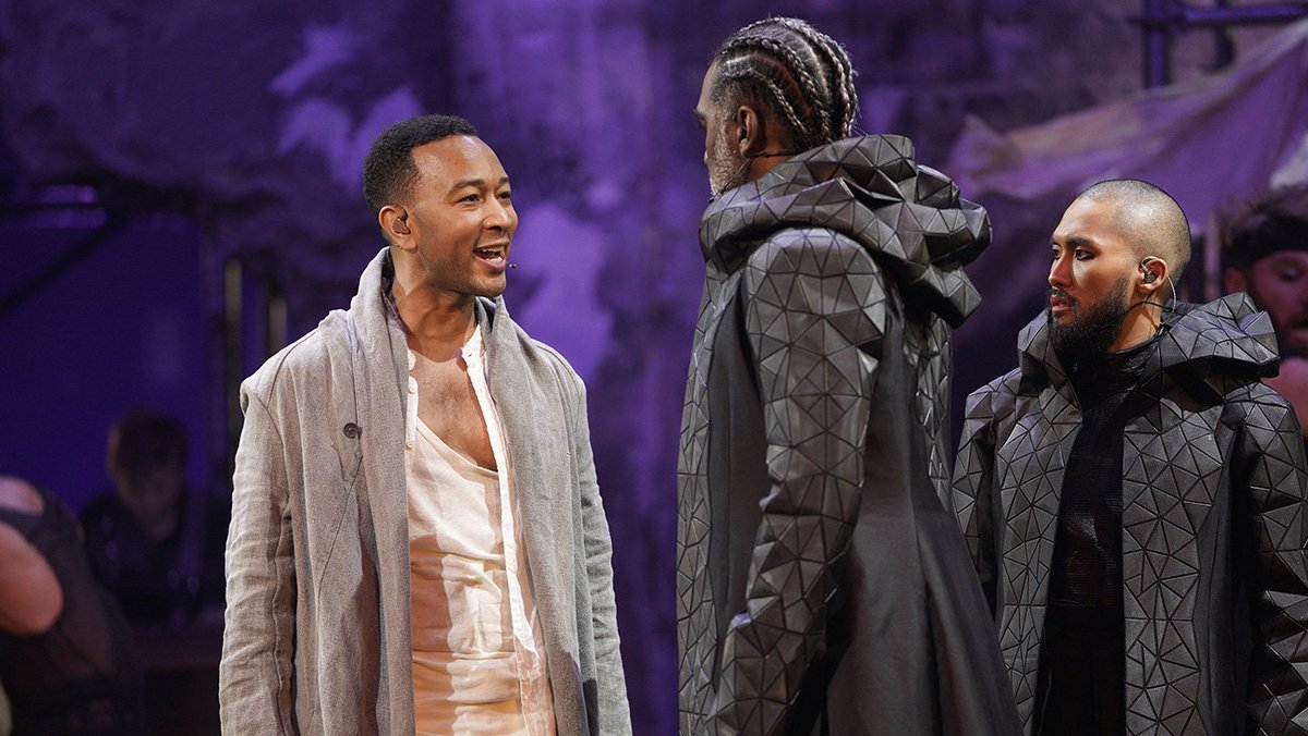 Read @THR's review of NBC's 'JesusChristSuperstar Live in Concert'