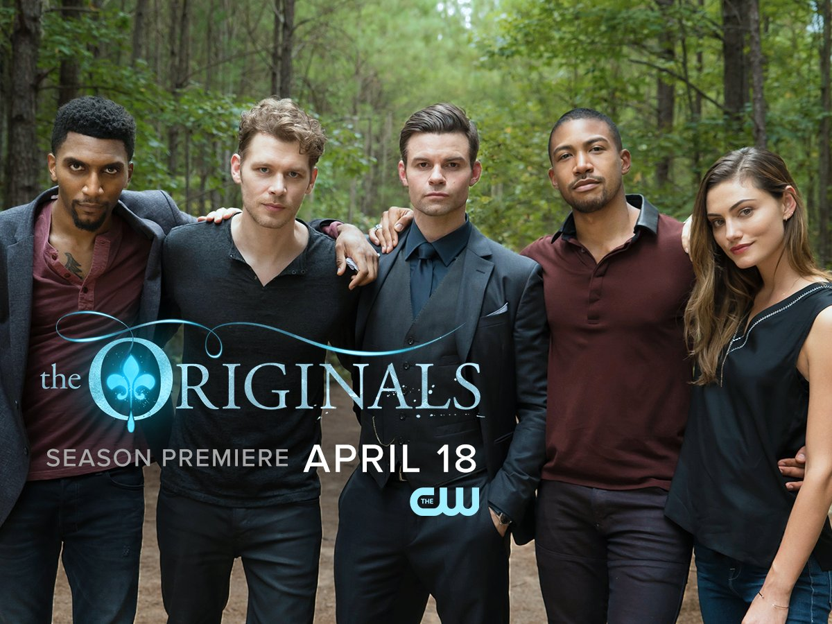 No need to wait forever. The final season of #TheOriginals begins Wednesday, April 18 at 9/8c on The CW! https://t.co/NVI7Veyhn7