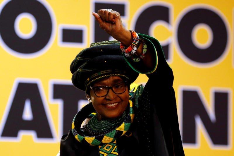 South African anti-apartheid campaigner Winnie Madikizela-Mandela dies aged 81