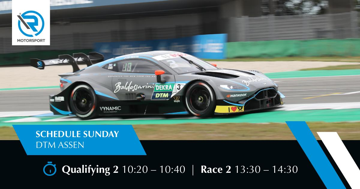 test Twitter Media - Another day, another race. Here's our schedule for the last day at @ttcircuitassen 👇 #Rmotorsport #Vantage #DTM #DTMAssen https://t.co/zIzP8qkpdO