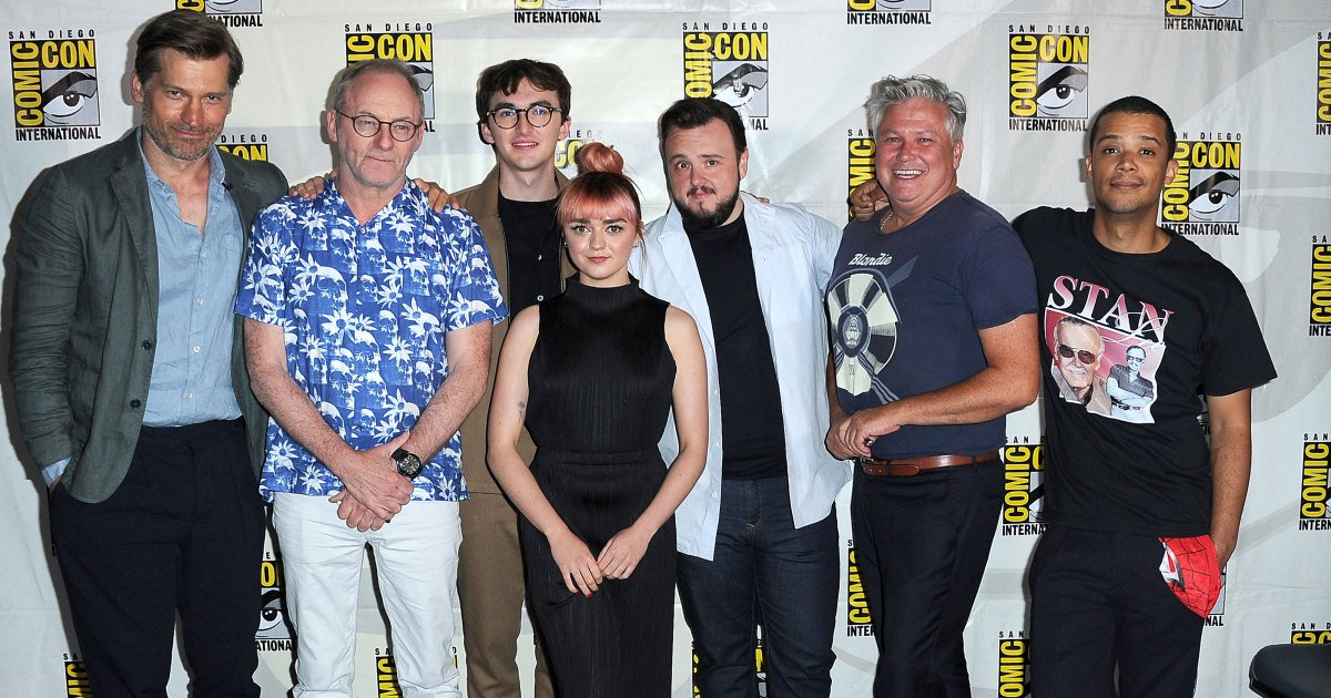 test Twitter Media - 'Game of Thrones' Star Booed at Comic-Con as Cast Defends Final Season https://t.co/Ir4arsJUV5 https://t.co/MUXnmKrHMd