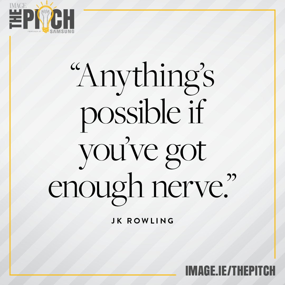 test Twitter Media - Yes #JKRowling 👏🏼 Have you entered your business into The Pitch 2019? We're offering up to €100,000 worth of career-changing prizes to one self-starter 🎉 For more info: https://t.co/9W8XKNo0Yk 📲 #ThePitch19 powered by @samsungireland https://t.co/3lODoMlEtK