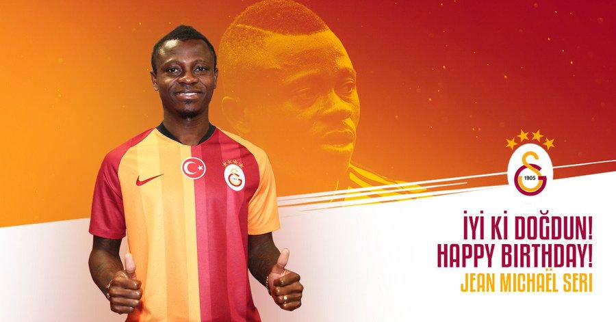 RT @Galatasaray: Happy birthday Seri! 🎂🎉 https://t.co/Do0grauhXH