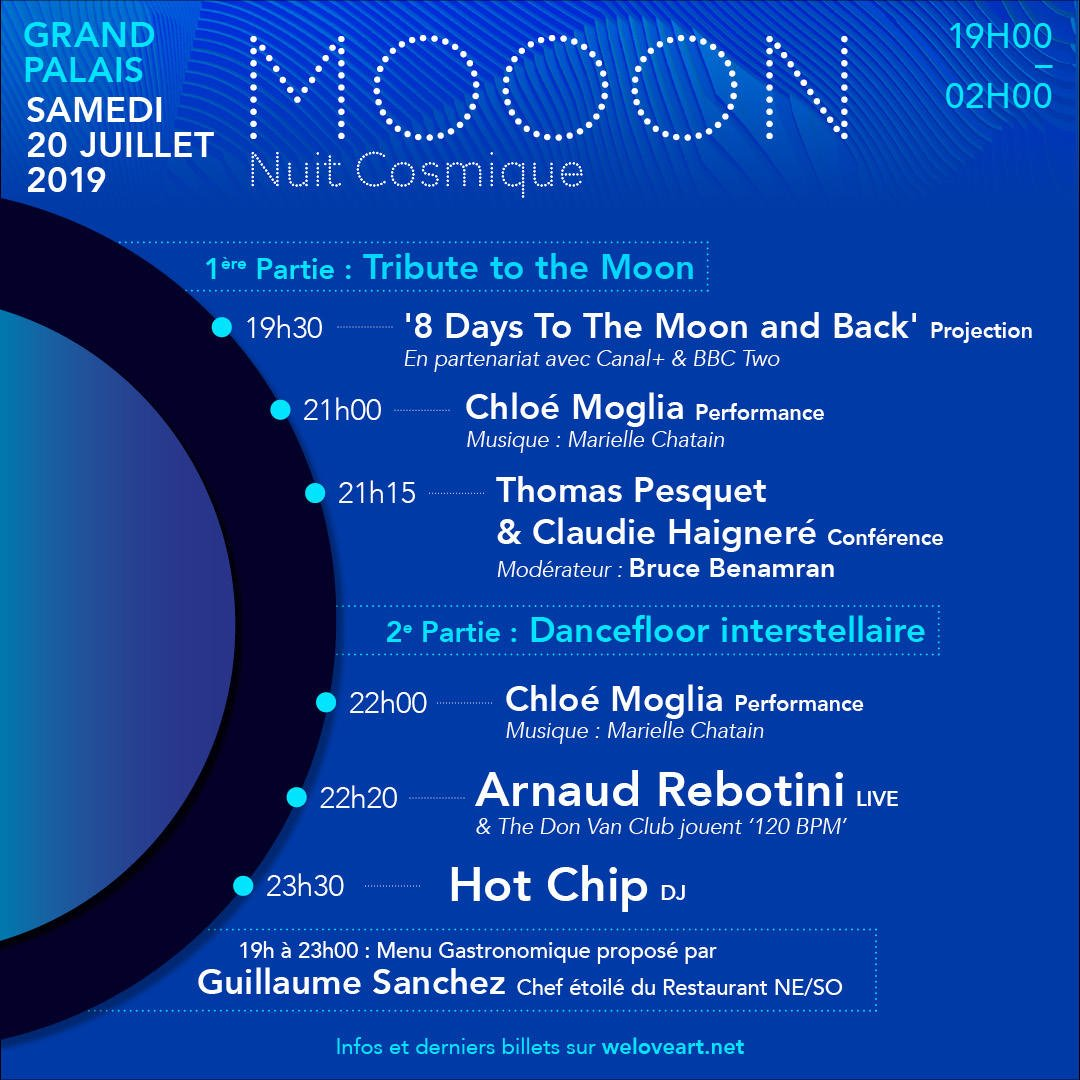 """test Twitter Media - RT esa """"Join us for cosmic night! #Mooon is taking place at GrandPalaisRmn in Paris 🇫🇷 on Saturday night from 19:00 CEST - and includes ESA astronauts Thom_astroand Claudie Haigneré. More information and tickets via: https://t.co/r41l39U0tu #ForwardToT… https://t.co/GY0SMePfqB"""""""