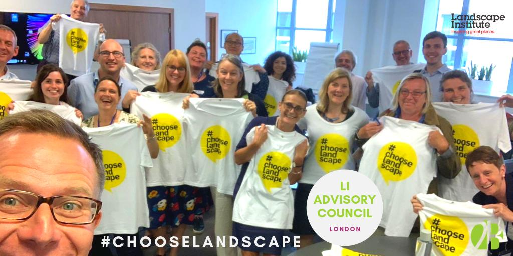 test Twitter Media - Great first #LandscapeInstitute Advisory Council meeting for Cara as the new student rep and Bill's 4th year as Tech Committee rep!  We had a jammed packed agenda - which included taking a selfie to help advertise the #chooselandscape campaign! https://t.co/qe22rRMC5c
