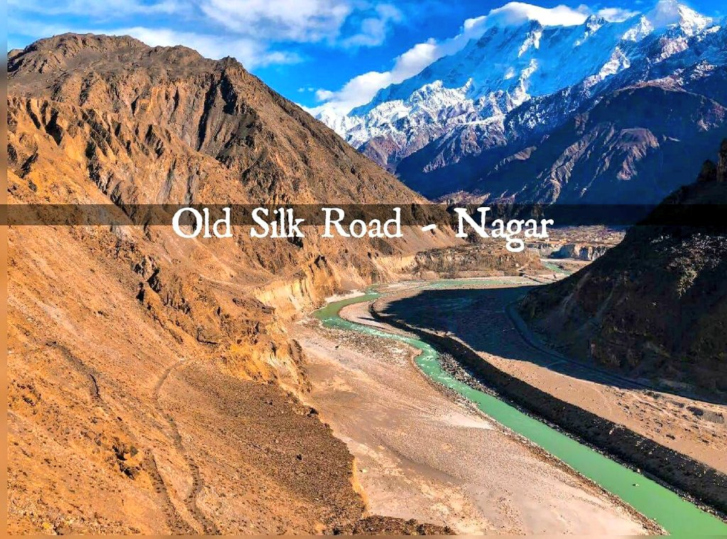 RT @The_North_Blood: Old Silk Road, Nagar Valley, Gilgit Baltistan.   #GilgitBaltistan #HighAsia #silkroad https://t.co/PveP5o2tw6