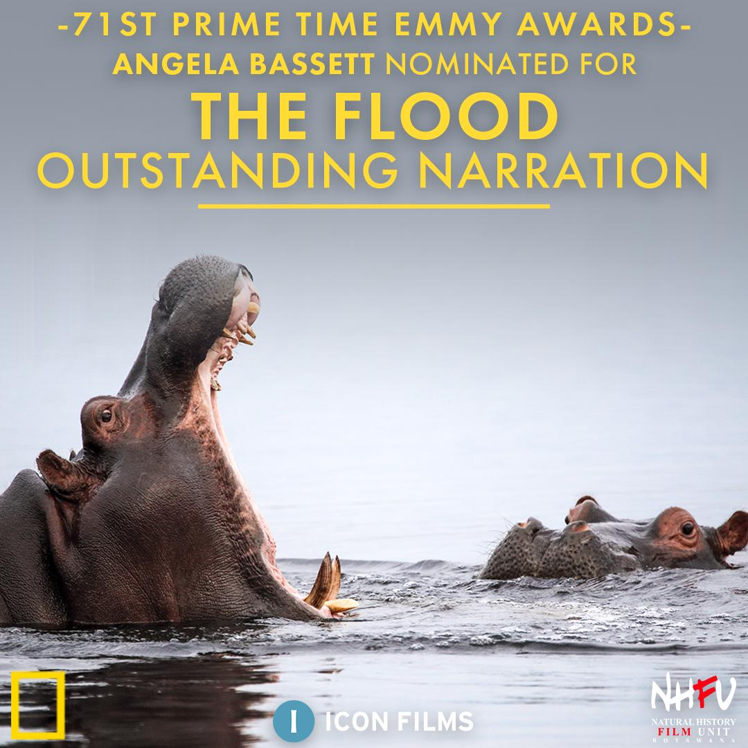 A huge thank you to the @TelevisionAcad for recognising our hard work alongside @NatGeoChannel and @NHFUBots on #SavageKingdom and The Flood - we're over the moon that Charles Dance and @ImAngelaBassett have earned nominations in the narration category. https://t.co/FJTURkbmZW