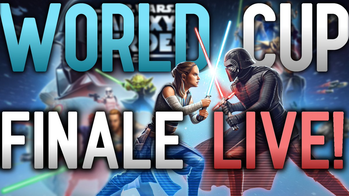 test Twitter Media - TODAY IT ALL ENDS!!! Come see the epic conclusion to the second #SWGOH World Cup LIVE later today! Stream will be starting between 4:45 and 5 PST (7:45-8:00 EST). https://t.co/LJtP5wrjdI