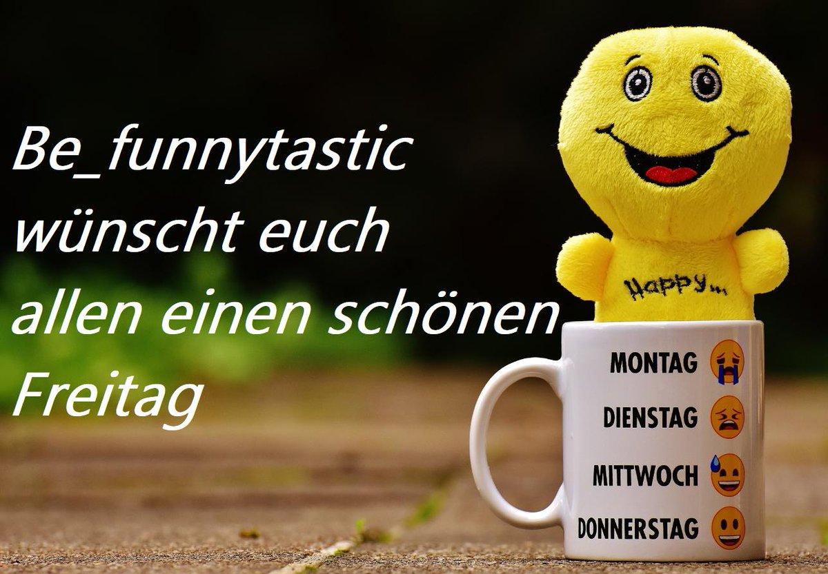 RT @Be_funnytastic: 😆Be_funnytastic wünscht euch allen einen schönen Freitag 😁#Be_funnytastic #Freitag #Hallo https://t.co/kS3UBiNHiv