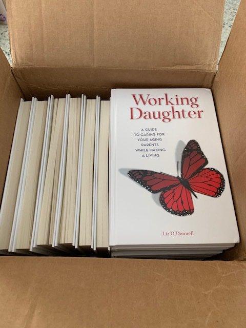 I got mail! Have you pre-ordered your copy? #workingdaughter  #eldercare https://t.co/TJjF8jwSpt