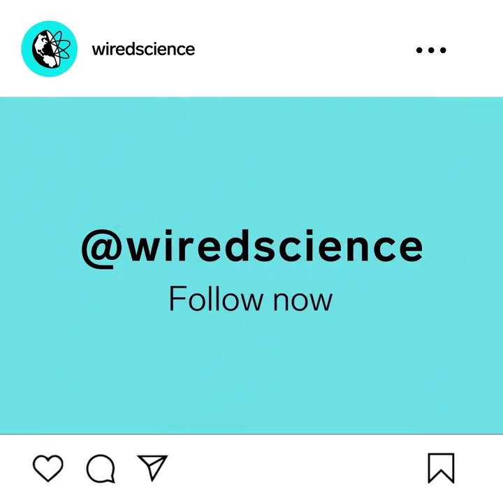 Come for the robots, stay for nuggets of knowledge you can impress your friends with.   Follow our new WIRED Science Instagram account: https://t.co/7LrSwjEBWP https://t.co/qZk55V7XKB