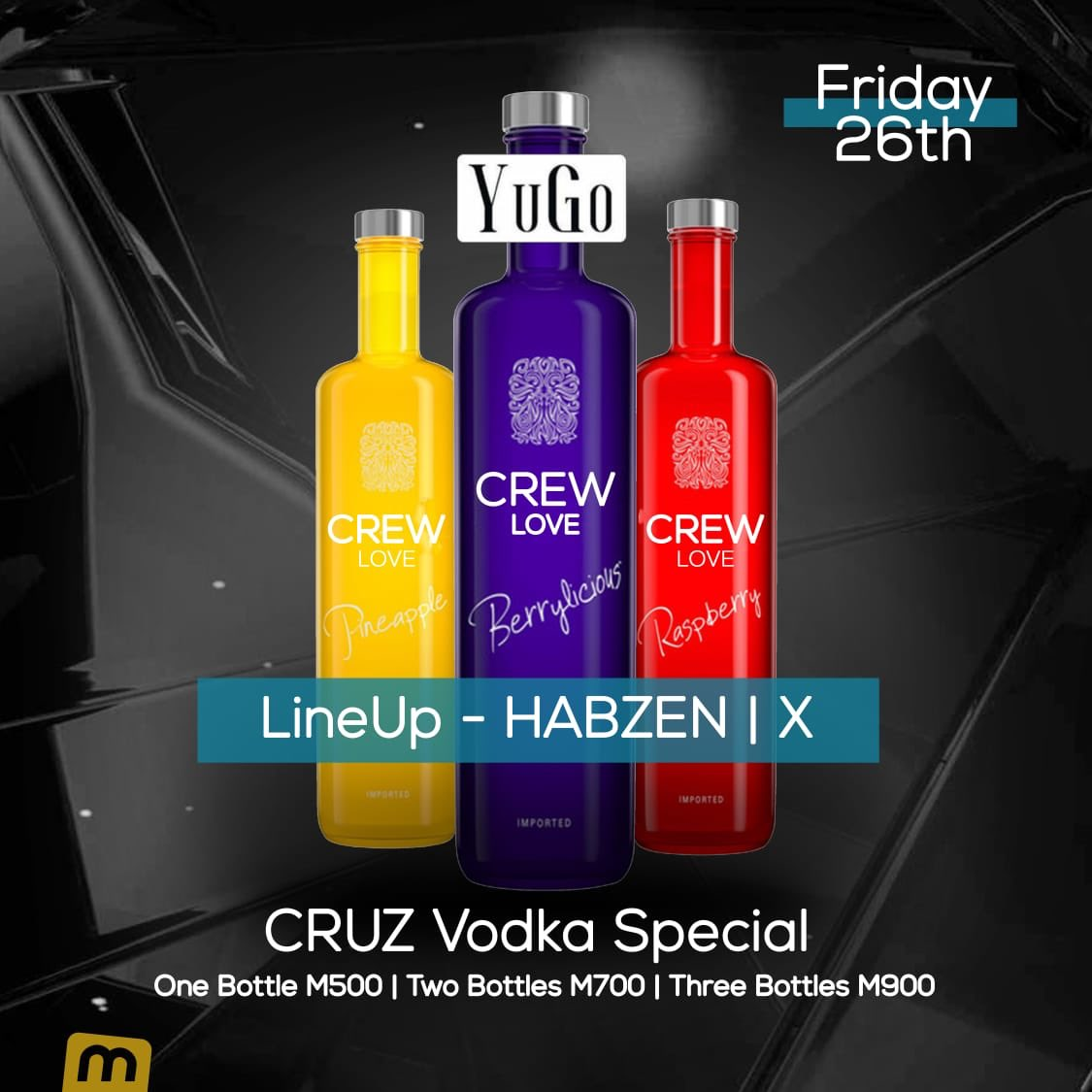 test Twitter Media - We're back next week with #CrewLove like we never left 😎 but check, new look lurking 🎨🎭👀   Come Cruz with us 🍾 It's a specials night 😏 not just special but specials ✨ Friday, July 26th 🥂 https://t.co/UYCuXVDJux