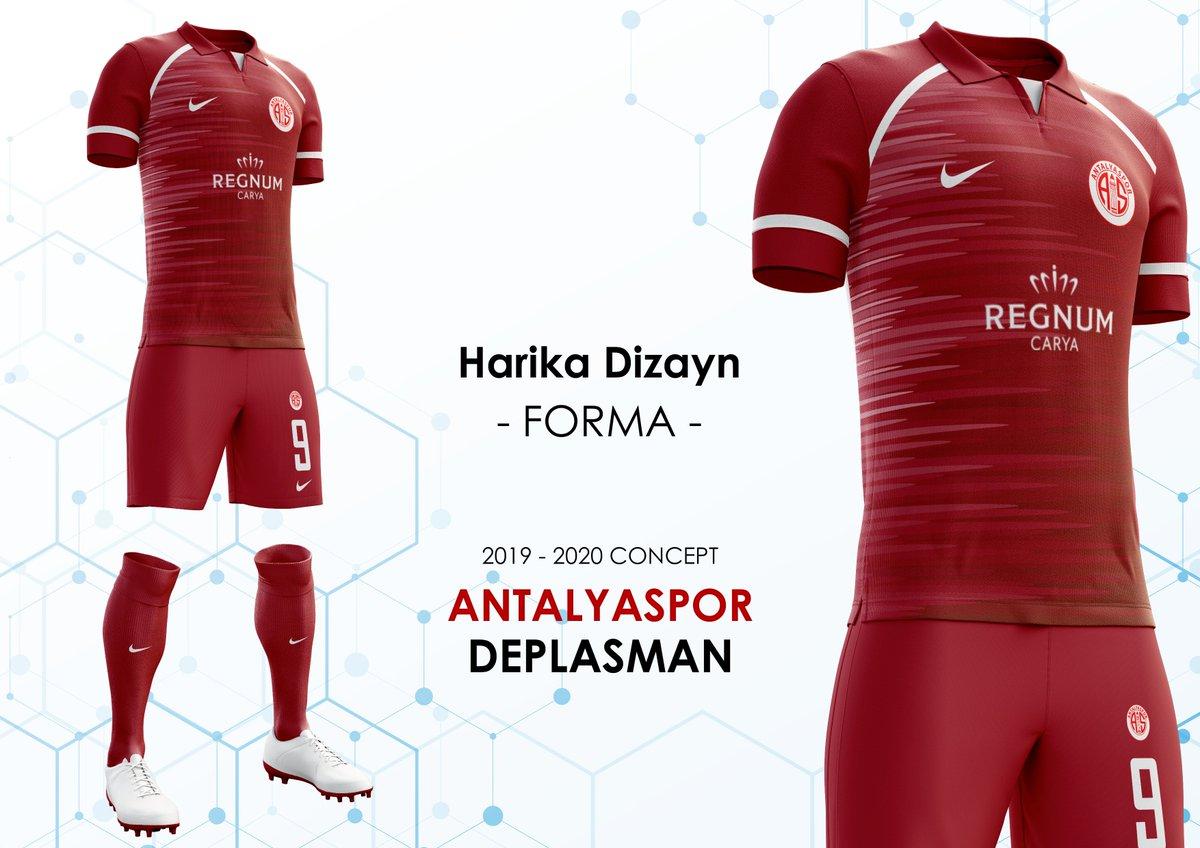 RT @FormaDizayn: Antalyaspor Deplasman Forması Konsepti 2019-2020 - Nike #Antalyaspor #Forma #Kits @Antalyaspor https://t.co/0XcjL2HfOJ