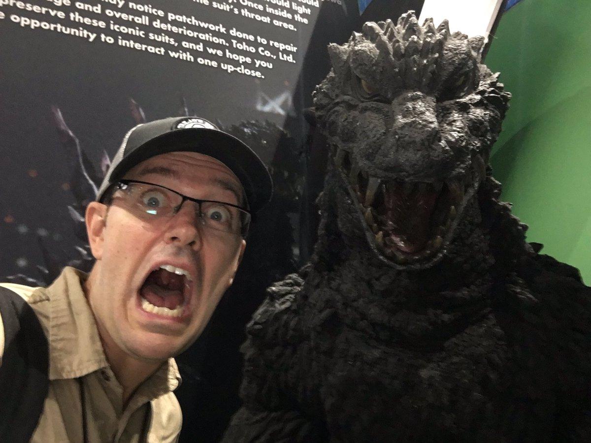 test Twitter Media - The actual Godzilla 2000 suit! @toho_godzilla #godzilla65 https://t.co/KSrR1WV7u2