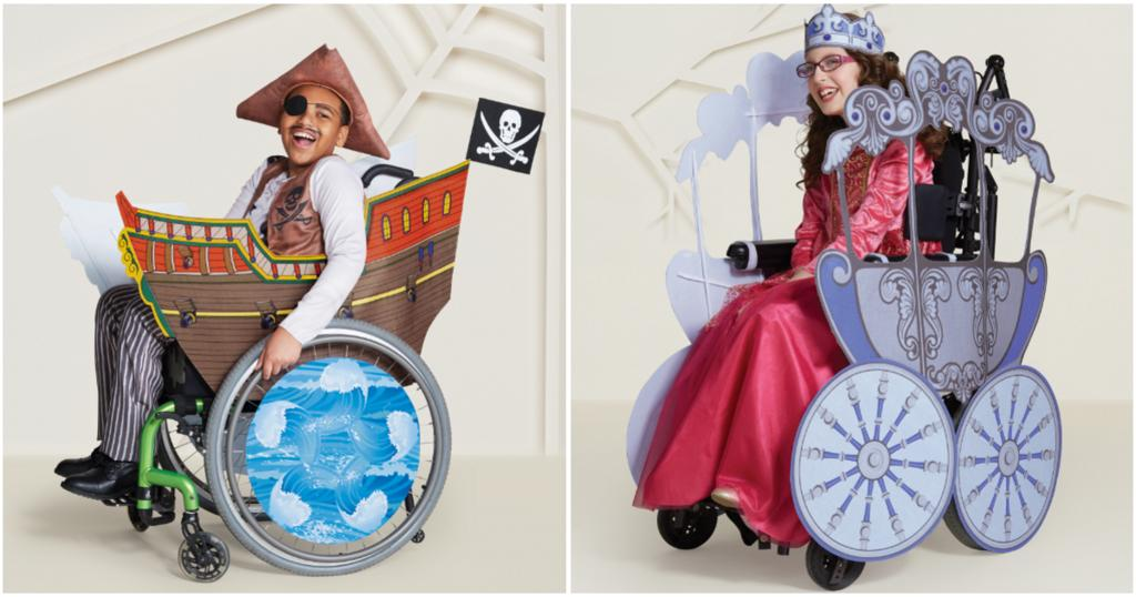 Target introduces adaptive Halloween costumes for kids with disabilities