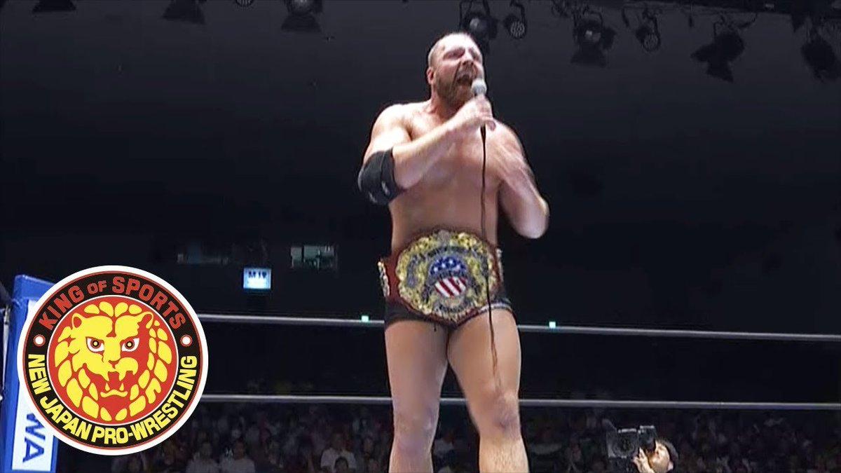 test Twitter Media - WATCH: Jon Moxley give a fired up address to Korakuen Hall after winning his first ever NJPW main event!  https://t.co/0Jsqu1BWxH #g129 #njpw https://t.co/9Fl3dKdPZT