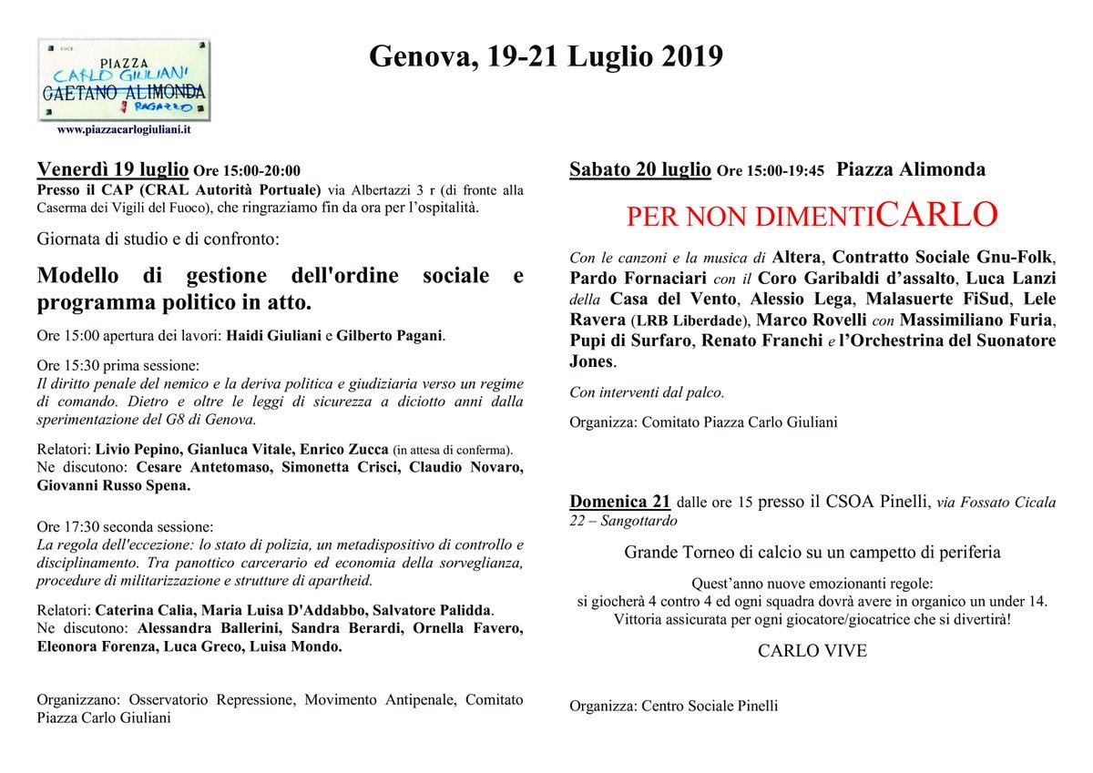#GenovaG8