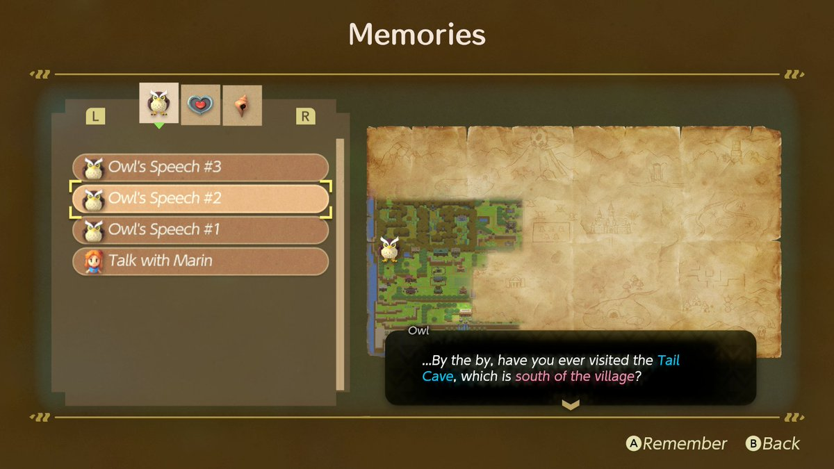 test Twitter Media - Skipped past some words of wisdom? In The Legend of #Zelda: Link's Awakening, re-read any important info you've found or heard in the Memories menu.  It's a good thing Link takes a lot of notes… https://t.co/A9FOSca6I5