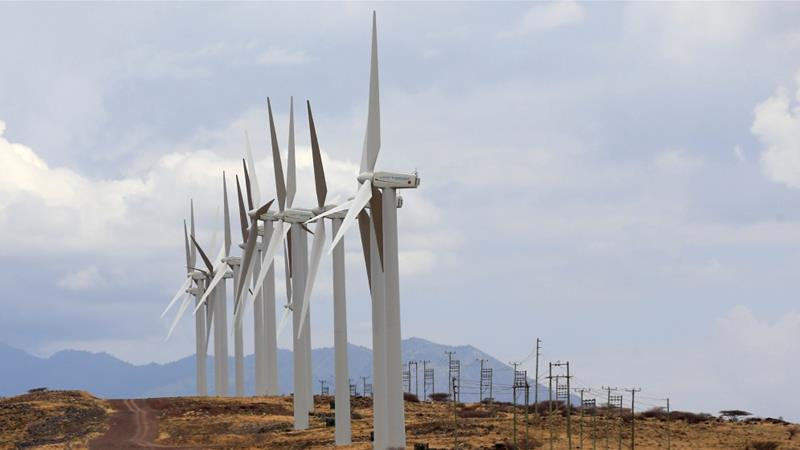 Kenya opens Africa's largest wind farm, consisting of 365 turbines