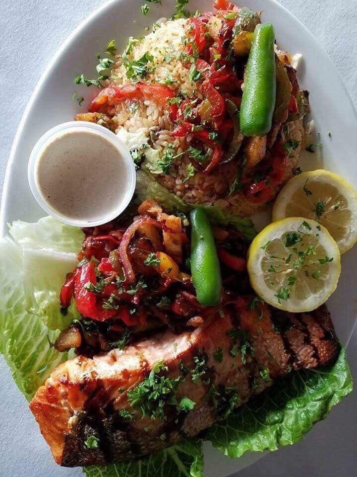 """test Twitter Media - Come enjoy our special of the day Fresh """" Grilled Salmon """"   RSV 714-635-3333 @where2go_mag @latimes @Rosecafehookah @ssa_csula https://t.co/ODxi5bQZ65"""