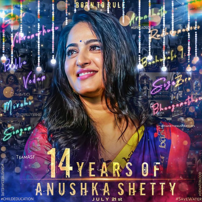 test Twitter Media - One of the most versatile and elegant actress #AnushkaShetty !!   #14YearsOfAnushkaShetty https://t.co/5LMI7GtJWr