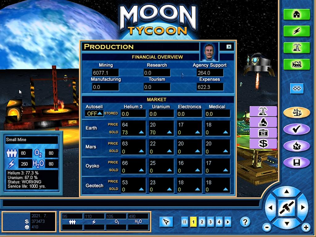 test Twitter Media - @elonmusk Did you ever play 🌔 Moon Tycoon? https://t.co/aAzUj9q9bT  We made this back in 2001, and just 🚀 launched it now on Steam to celebrate the Apollo 11 Moon Landing anniversary 😀  #gamedev #indiedev #SteamSale #retrogaming #Moon #Tycoon #NASA #screenshotsaturday https://t.co/PqONLbaS5e